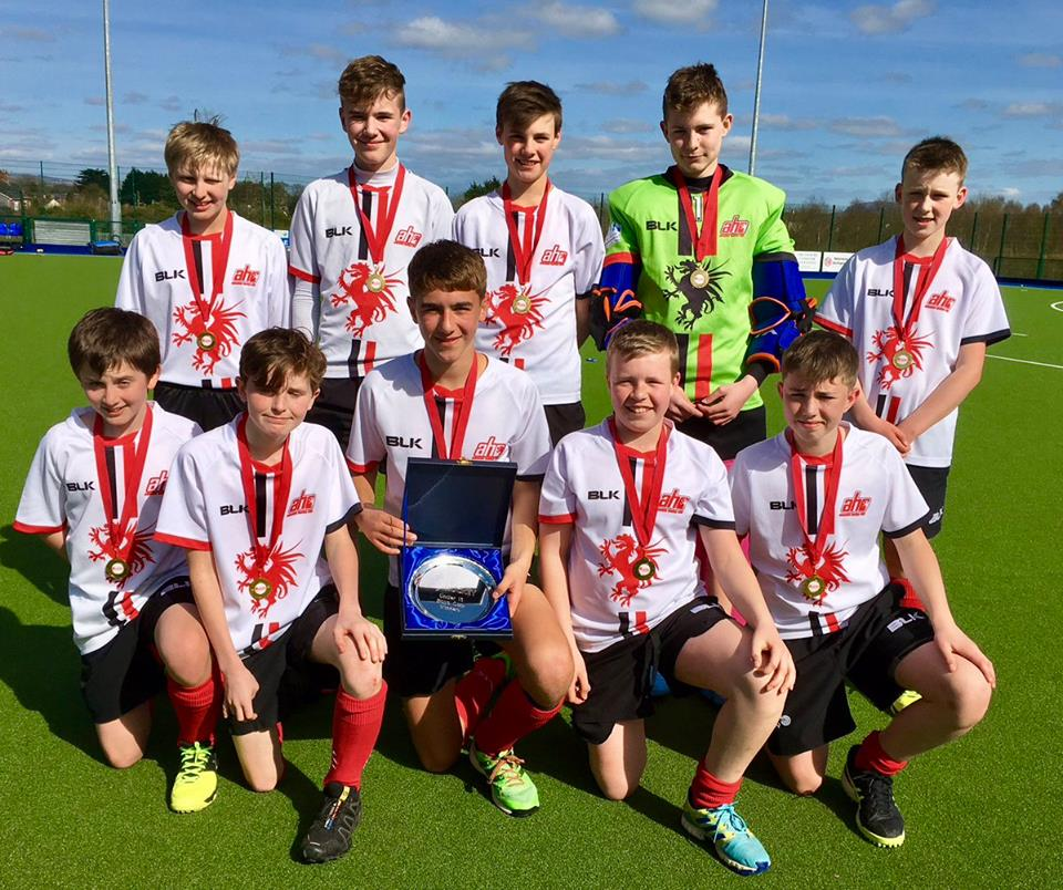 Under 13 A Team wins Cup