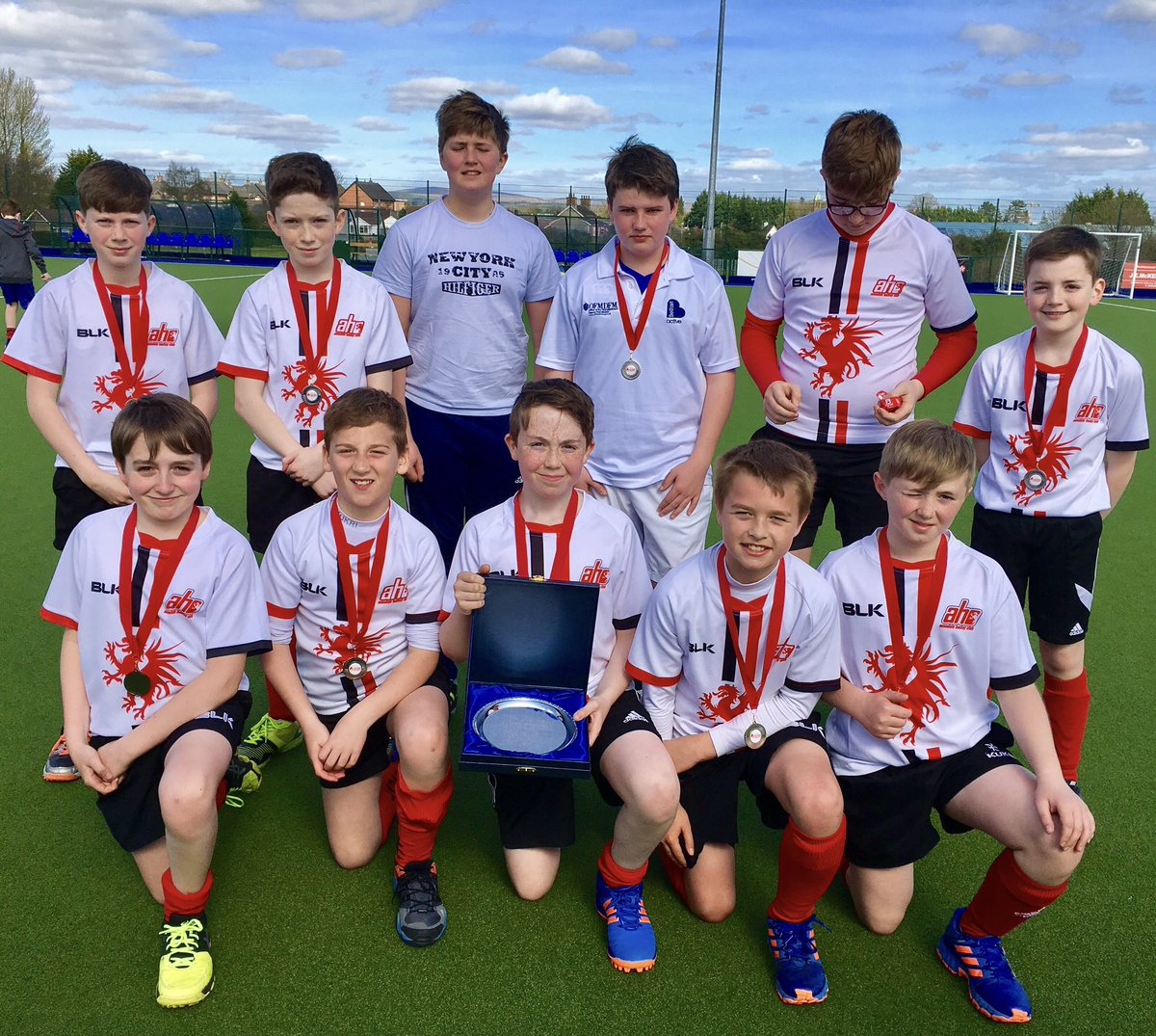 Under 13 B Team runners-up in Plate